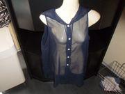 Bluse transparent Gr 38