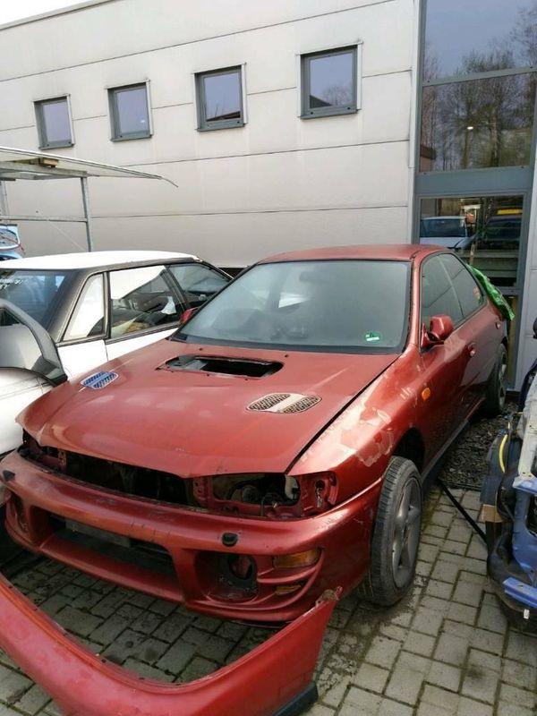 Schlachtfest Teile von Subaru Impreza