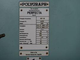 Bild 4 - Schneidemaschine Perfecta 92cm wie Wohlenberg - Halle Radewell