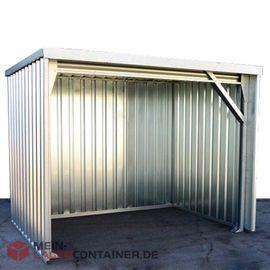 3x2m Unterstand Container Pausen-Unterstand o. Boden schwellenfei