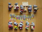 Ü-Eier Komplettsatz Happy Hippo Company