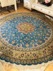 Persischer Seidenteppich Teppich handgeknüpft 310