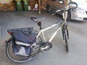KTM-Tourenrad mit Satteltaschenset zu verkaufen