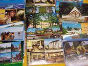 100 unbeschriebene Ansichtskarten aus Deutschland