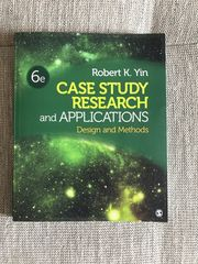 Case Study Research and Applikations
