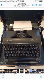 Schreibmaschine mechanisch Olympia Topzustand