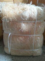 Holzwolle naturbelassen trocken 8 kg -
