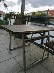 Balkon- Gartentisch 120 x 80