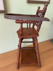 Puppen-Holzhochstuhl
