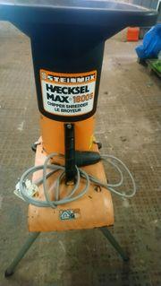 Steinmax 1800 Gartenhäcksler Häcksler