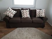 3er Sofa Couch mit Bettfunktion