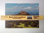 Puzzle Burg Hohenzollern bei Hechingen