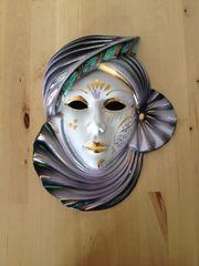 Venedige Maske aus Porzellan