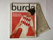 burda Zeitschrift 1960er Jahre Nr