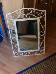 2 Spiegel weißer Metallrahmen 20