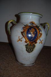 Große bauchige wunderschöne Keramikvase