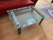 Glastisch für Couch Sofa