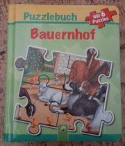 Puzzle Buch Bauernhof