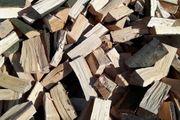 Kaminholz Brennholz trocknen beste Qualität