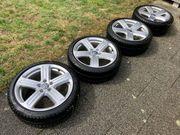 VW Sportfelgen mit Winterbereifung