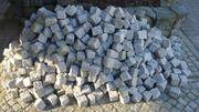 Naturstein Pflaster Granit Kleinpflaster Natursteine