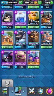 Clash royal account liga 3
