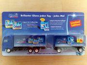 Werbetruck Mini-Truck Calgonit Brillianter Glanz