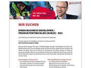 Business Developer Produktentwickler - B2C m