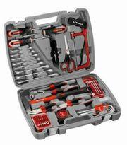 Werkzeug-Koffer mit Werkzeug-Set 65-teilig ABVERKAUF