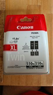 2x Canon 550 PGBK XL