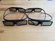3D Brille - Philips - 4 Brillen -