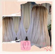 Weissblond Platinblonde Haare aufhellen Blondieren