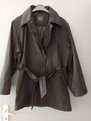 Fransa Damen-Jacke mit Bindegürtel Gr