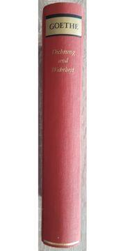 Goethe - Dichtung und Wahrheit Büchergilde