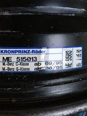 Mercedes W203 Stahlfelgen 15 zoll