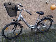 Fahrrad mit tiefem Einstieg