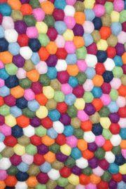 Neuer Teppich aus Filz Wolle