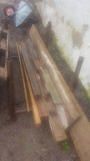 Baudielen Holz Kantholz Paletten und
