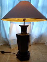 Haushaltsauflösung Asiatische antike Stehlampe Zinn