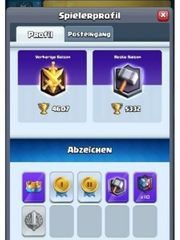 Clash Royale Account alle Karten