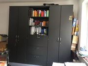 Büroschrank schwarz