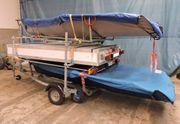 Bootsanhänger Segelboot 29er zu verkaufen