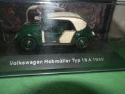 Volkswagen Hebmüller 1 43 1949