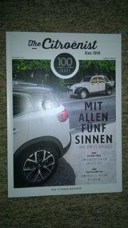 The Citroenist - Zeitschrift von Citroen-Konzern -