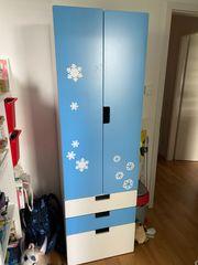 Ikea Schrank STUVA blau