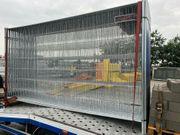 Mobilzaun Zaun Bauzaun Baustellenabsicherung zu