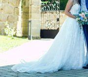 Traum- Hochzeitskleid Gr 36 TOP-