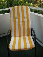 Stuhlauflagen f Gartenstühle - Frühling liegt