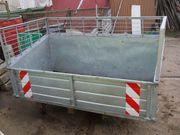 Heckcontainer voll verzinkt 160 X
