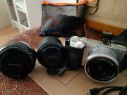 Sony 6000 E-Mount-Kamera mit APS-C-Sensor